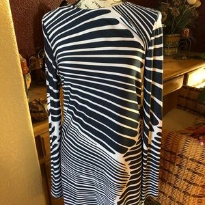 Dramatic print JB by Julie Brown Dress size Lrg